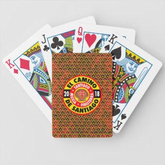 El Camino de Santiago 2018 Bicycle Playing Cards