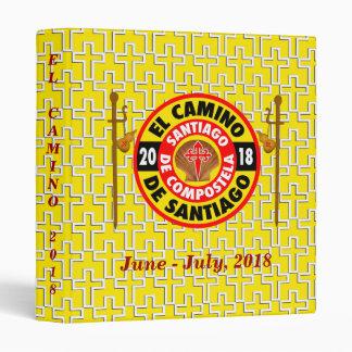 El Camino de Santiago 2018 Binders