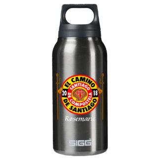 El Camino de Santiago 2018 Insulated Water Bottle