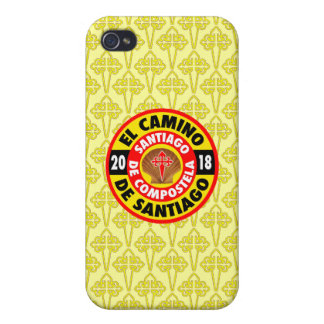 El Camino de Santiago 2018 iPhone 4 Cover