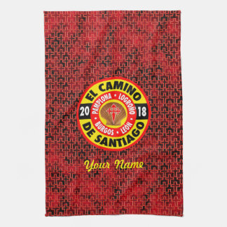 El Camino de Santiago 2018 Kitchen Towel