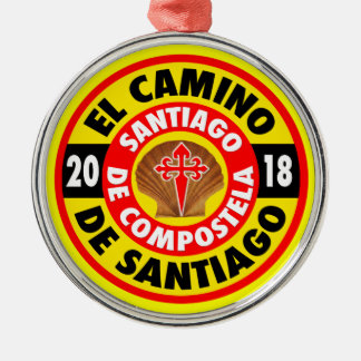 El Camino De Santiago 2018 Metal Ornament