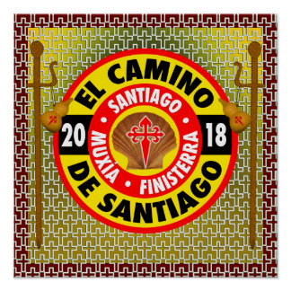 El Camino de Santiago 2018 Poster