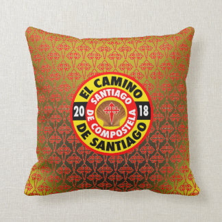 El Camino De Santiago 2018 Throw Pillow