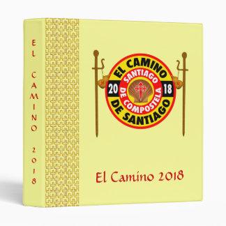 El Camino de Santiago 2018 Vinyl Binder