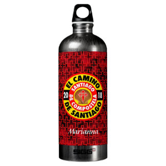 El Camino de Santiago 2018 Water Bottle