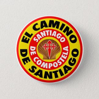 El Camino de Santiago 2 Inch Round Button