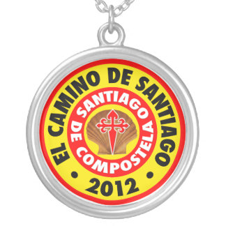 El Camino de Santiago de Compostela 2012 Silver Plated Necklace