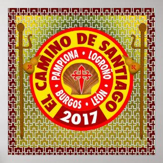 El Camino de Santiago de Compostela 2017 Poster