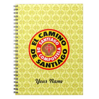El Camino De Santiago Spiral Notebook