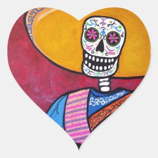 EL CANTADOR HEART STICKER