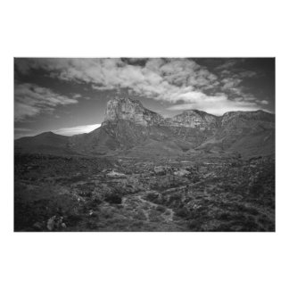 El Capitan in Black and White Photo Print