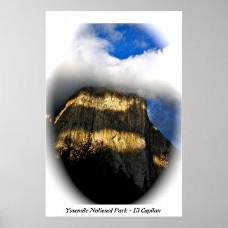 El Capitan in Yosemite National Park Posters