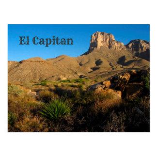 El Capitan Peak, Guadalupe Mountains National Park Postcard
