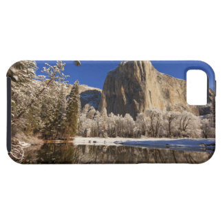 El Capitan reflects into the Merced River in iPhone 5 Cover