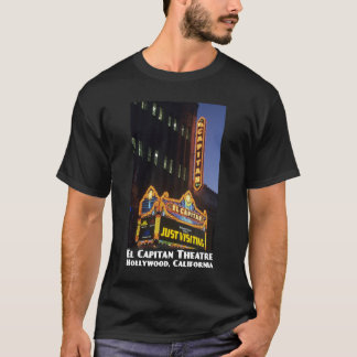 El Capitan Theatre, Hollywood Dark T-Shirt