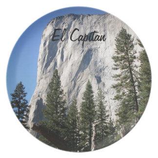 El Capitan, Yosemite National Park Dinner Plates