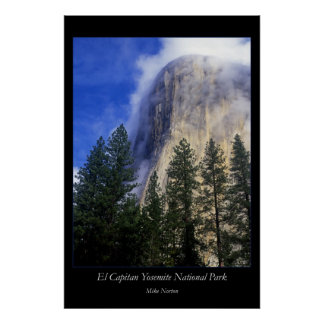 El Capitan Yosemite National Park Poster