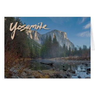 El Capitan Yosemite Notecard