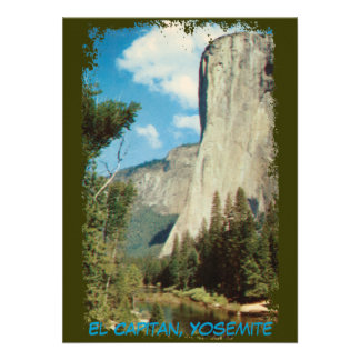 El Capitan, Yosemite Vintage Invitation
