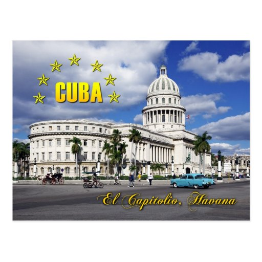EL Capitolio (capitol national), La Havane, Cuba Cartes Postales