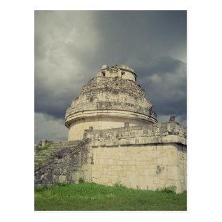 El Caracol  Mayan observatory Postcard