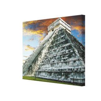 El Castillo Gallery Wrapped Canvas