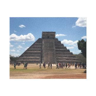 El Castillo – Chichen Itza, Mexico #2 Canvas