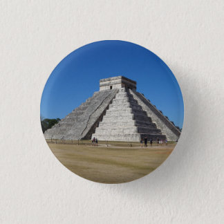 El Castillo – Chichen Itza, Mexico #4 Button