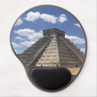El Castillo – Chichen Itza, Mexico Gel Mousepad