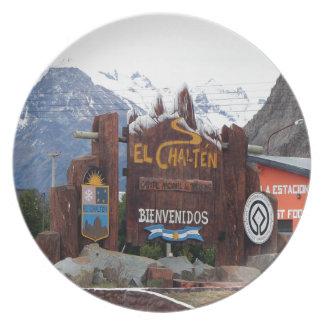 El Chalten, Patagonia, Argentina Plates