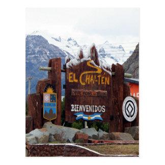 El Chalten, Patagonia, Argentina Postcard