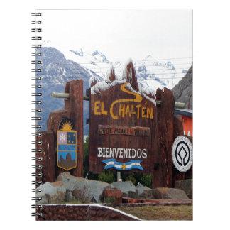 El Chalten, Patagonia, Argentina Spiral Notebook
