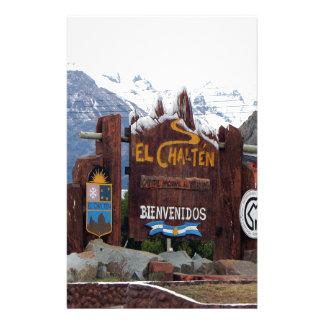 El Chalten, Patagonia, Argentina Stationery