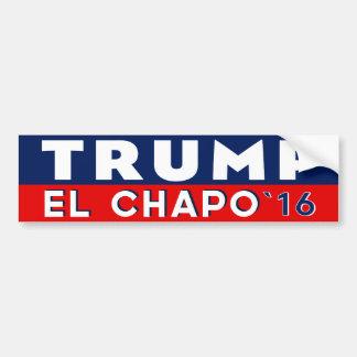 EL Chapo d'atout pour le Président adhésif pour Autocollant De Voiture