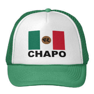 El Chapo Mexican flag Trucker Hat