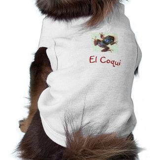 El Coqui Pet T-shirt