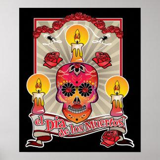 El Dia De Los Muertos - Day of the Dead Poster