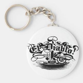 El Diablo Keychain