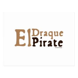 El Draque: Pirate Postcard