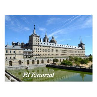 El Escorial, Spain Postcard