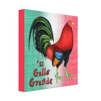 El Gallo Grande Canvas Print