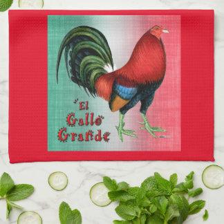 El Gallo Grande Kitchen Towel
