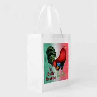 El Gallo Grande Reusable Grocery Bag