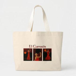 """El Garrotín"" (Flamenco) Large Tote Bag"