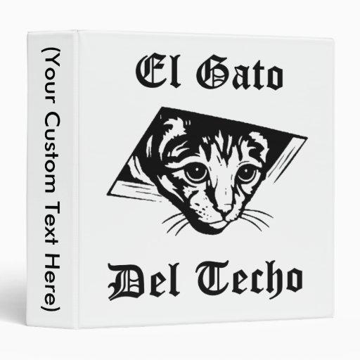 El Gato Del Techo Binders