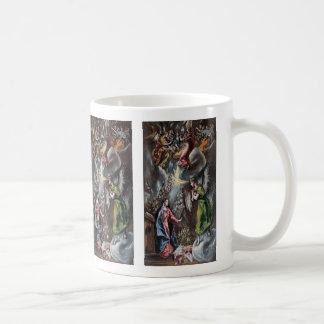 """El GRECO, """"Annunciation"""" Coffee Mug"""