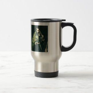 El Greco- Apostle St. James the Greater Stainless Steel Travel Mug