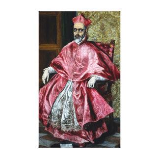 El Greco Cardinal Fernando Niño de Guevara Canvas Print