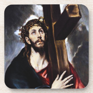 El Greco Christ Carrying The Cross Coasters